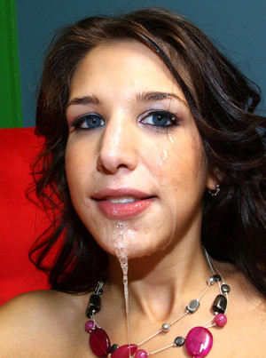 Krystal Benz her first huge facial..