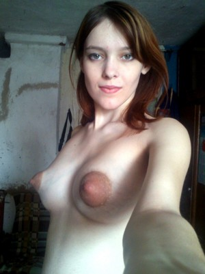 Amateur girlfriend with big puffy..
